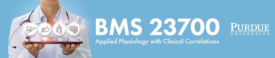 BMS 23700 - Applied Physiology with Clinical Correlations